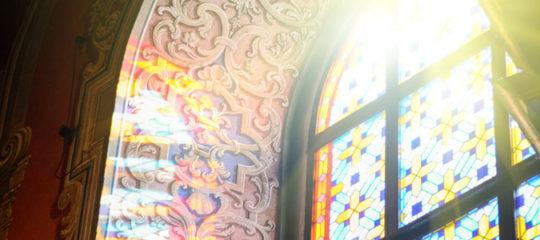 Installation de vitrails