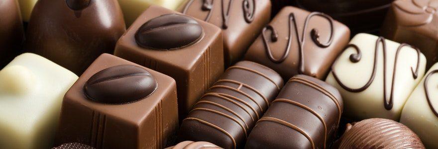 Manger du bon chocolat