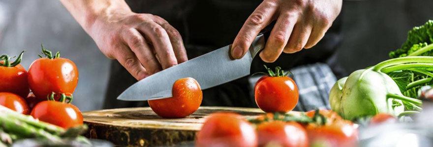Choix de couteaux